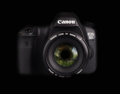 Mock Advertisement (Canon 6D)