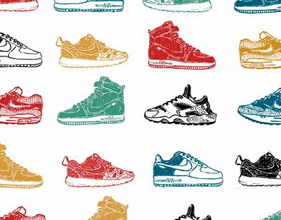 Sneaker Pattern Project#1- Nike ID