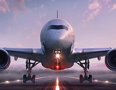 Lufthansa Westfassade |Full CGI