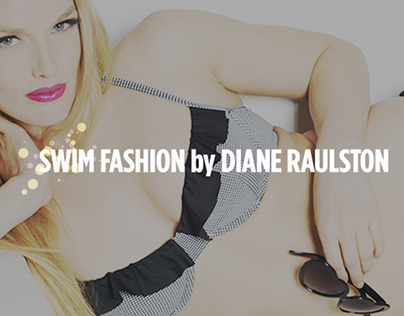 Swim Fashion by Diane Raulston Mobile Website Header
