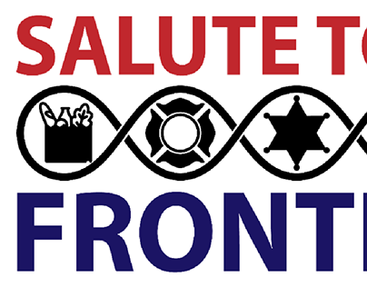 Salute to the Frontline logo