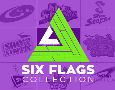Logo Vault: Six Flags Collection