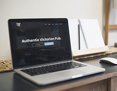 AUTHENTIC VICTORIAN PUB WEBSITE REDESIGN