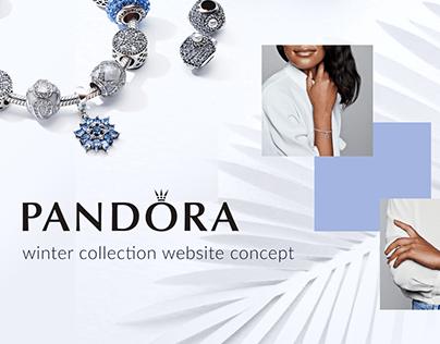 Pandora website concept