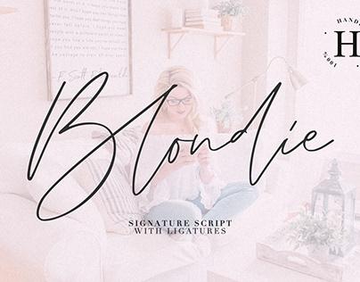 Blondie script