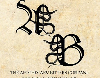 The Apothecary Bitters Company - Branding and Packaging