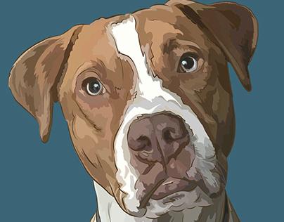 Little Buddies - Commissioned Pet Portraits