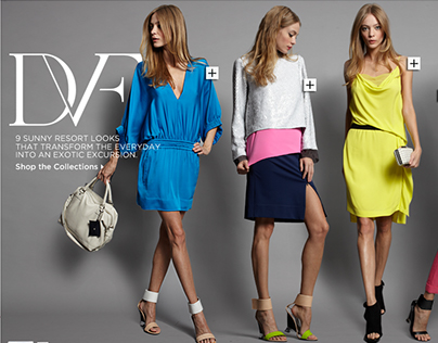 DVF Homepage Event