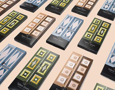 TALLINN DOORS chocolate concept & packaging