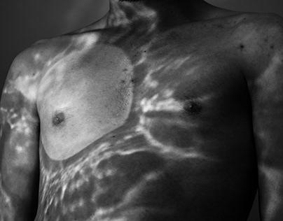 Reflejos de luz sobre el cuerpo Photography series