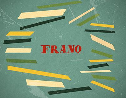 FRANQ FREE SKETCH RETRO FONT