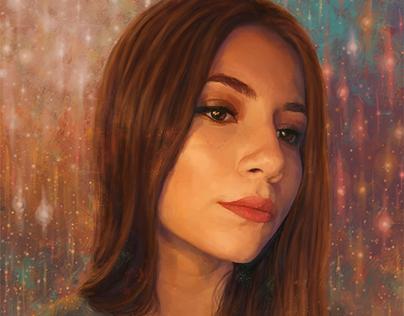 Izzy - Digital Painting