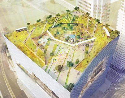 Render Process | Urban Block
