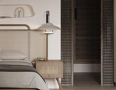 A Bit Boho- Bedroom Interior Design