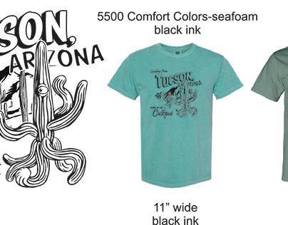 The Cactopus Tucson Souvenir Tee