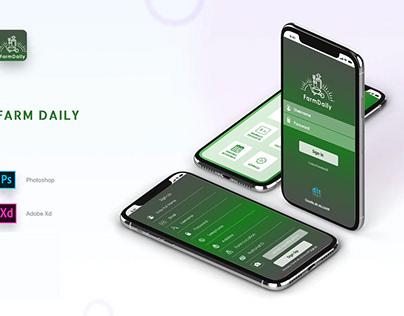 Mobile App :: Farm Daily
