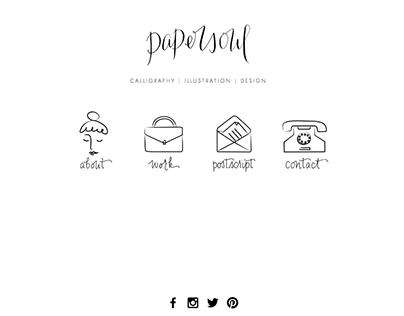 Web design: Papersoul