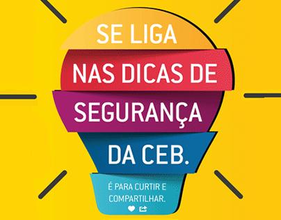 Dicas de Segurança | CEB