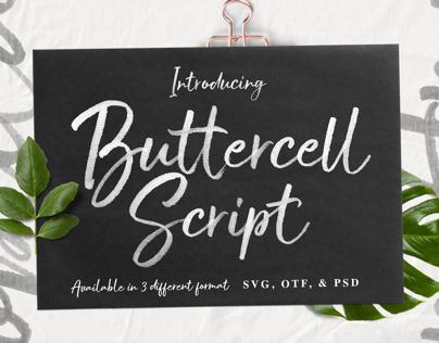 Buttercell | Opentype SVG Font