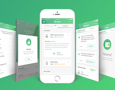 Karri - Branding, Mobile & Collateral Design Case Study
