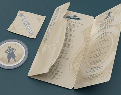 "Themed Restaurant Concept - ""Constables"""