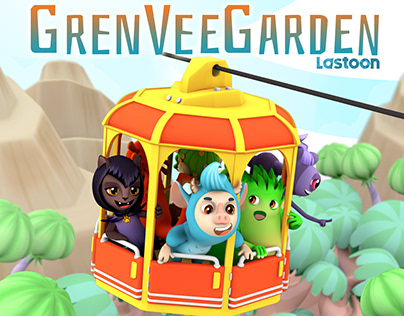 GrenVeeGarden TV animated series 26x7'