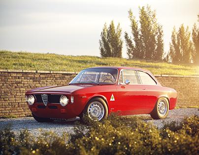 Alfa Romeo Giulia GTA (full cgi)