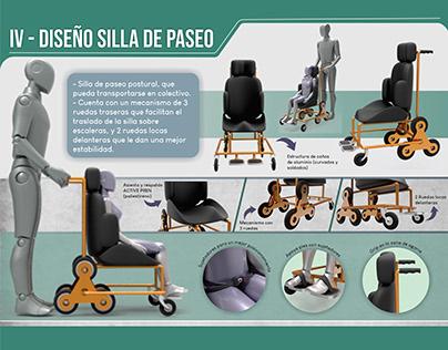Diseño Interdisciplinar - Silla de Ruedas Terapéutica