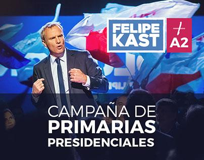 Campaña de Primarias Presidenciales, Felipe Kast