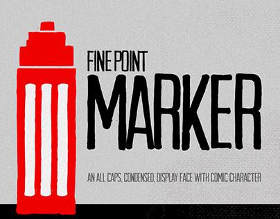 Fine Point Marker