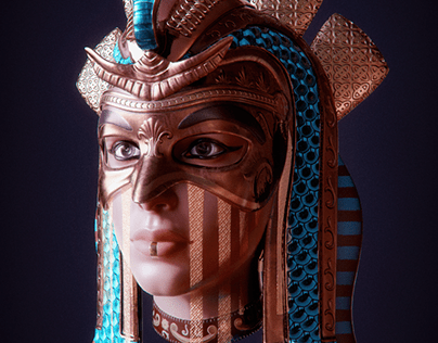 Cleopatra Mask Concept Model