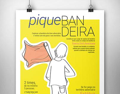 Cartaz: Pique Bandeira