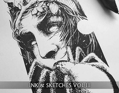 Ink drawings & sketches VOL. III