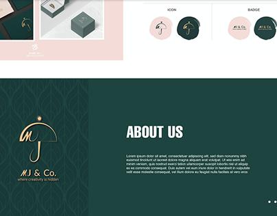MJ &Co Logo Design