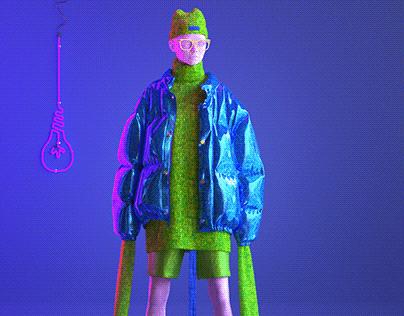 Digital fashion-Monster Inc.
