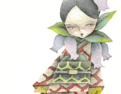Bell flower/釣鐘草