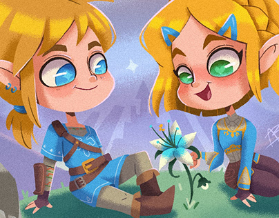 Zelda BOTW Snowglobe