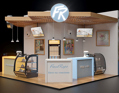 FLAVOR RIGHT MEXIPAN 2020 STAND EXHIBITION