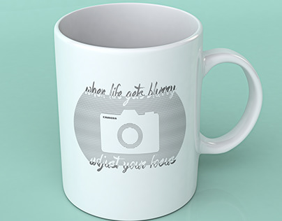 Cool Graphic Mug Design For Photography Lover