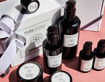 PURE STORY - cosmetics' labels