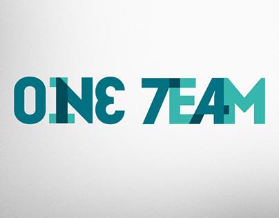logotipo ONE TEAM