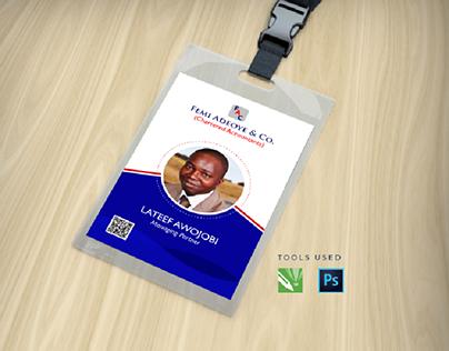 Corporate Identity  Card - ID Card