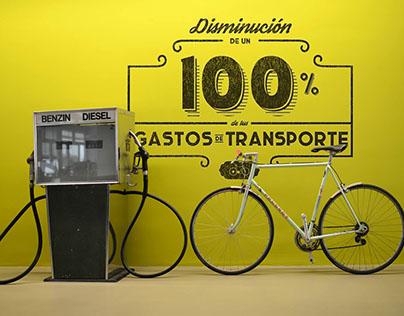 A la Agencia en Bicicleta