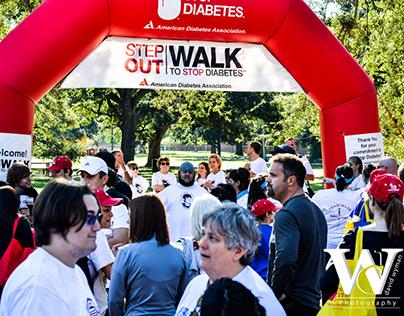 American Diabetes Association Walk-a-thon Event photos