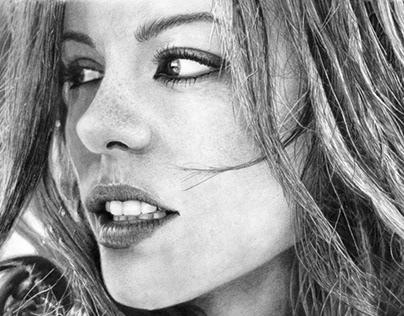 Ilustración de Kate Beckinsale