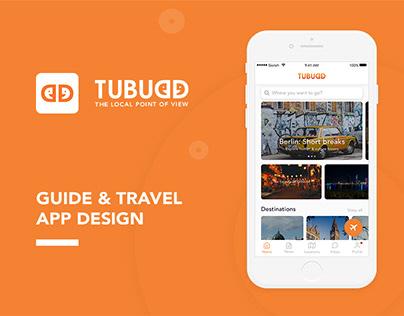 Tubudd - Guide & Travel App Design