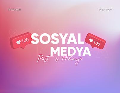 2019-2020 Sosyal Medya Tasarımları