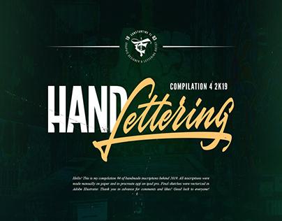 Hand Lettering compilation #4 2K19