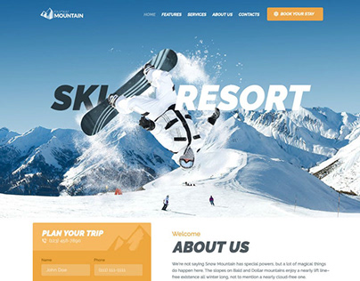 Snow Mountain | Ski Resort & Snowboard School WP