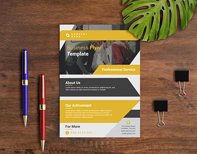Business Flyer Design Template.